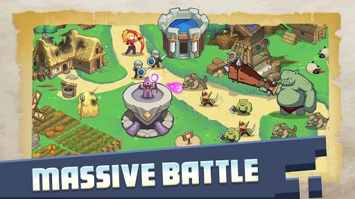 Empire Defender TD: Tower Defense The Fantasy War  screenshots 3