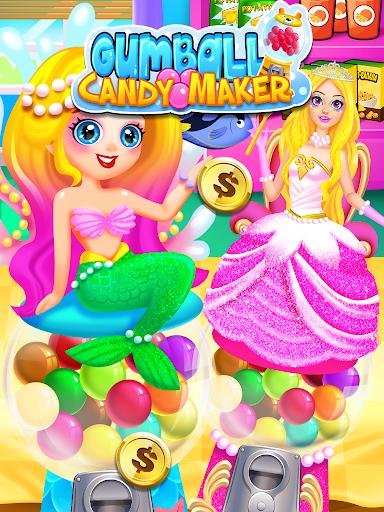 Bubble Gum Maker: Rainbow Gumball Games Free screenshots 3