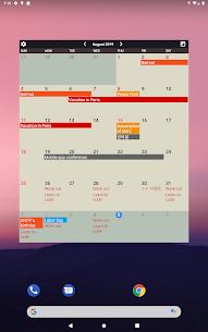 Calendar Widgets Premium Apk: Month Agenda calendar (Paid Features Unlocked) 9