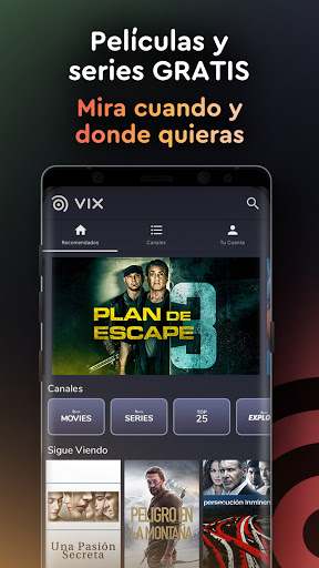 VIX - CINE. TV. GRATIS. screenshot