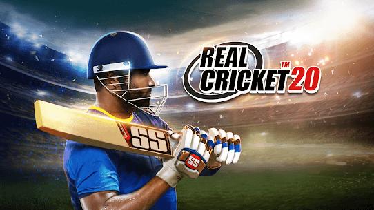 Real Cricket 20 MOD APK 4.5 (Unlocked Everything) 1