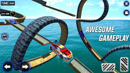 Extreme Mega Ramp GT Car Stunts- New Car Game  Screenshots 21