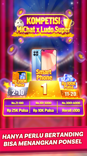 Ludo Super - Online Ludo Game(Hadiah Pulsa Gratis) Apkfinish screenshots 5