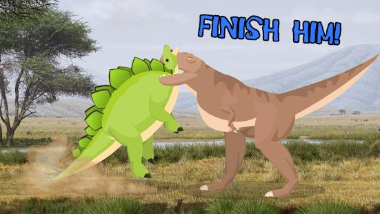 T-Rex Fights Stegosaurus 0.10 Pc-softi 2