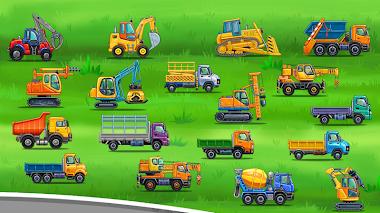 Juegos de camiones - Un juego muy entretenido para Niños