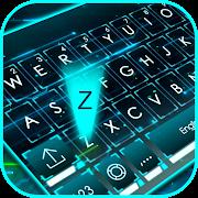 Neon 3d Tech Hologram Keyboard Theme