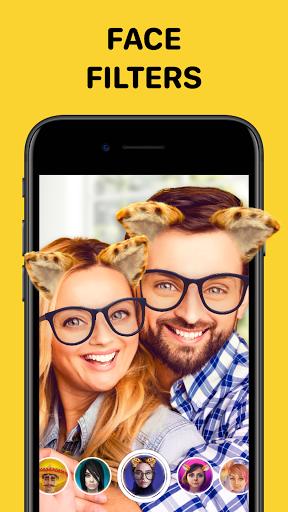 Banuba - Funny Face Swap & Camera Filters  Screenshots 3