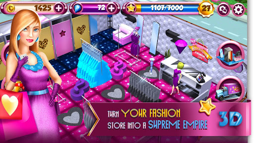 My Boutique Fashion Shop Game: Shopping Fever 10.0.4 screenshots 3