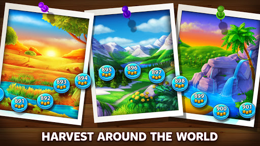 Solitaire Grand Harvest - Free Tripeaks Solitaire 1.79.0 screenshots 6