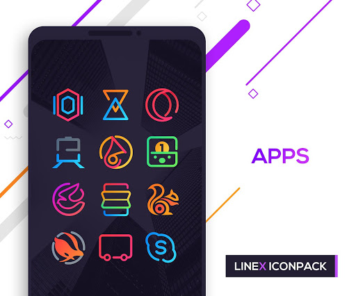 LineX Icon Pack  screenshots 5