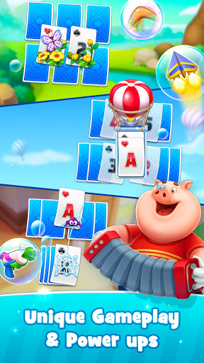 Solitaire TriPeaks Happy Land - Free Card Game  screenshots 3