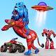 Space Robot Transport Games - Lion Robot Car Game APK