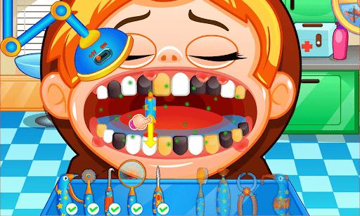 Fun Mouth Doctor, Dentist Game apktram screenshots 10