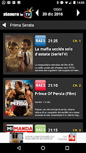 StaseraInTV 4.0.10 APK with Mod + Data 2