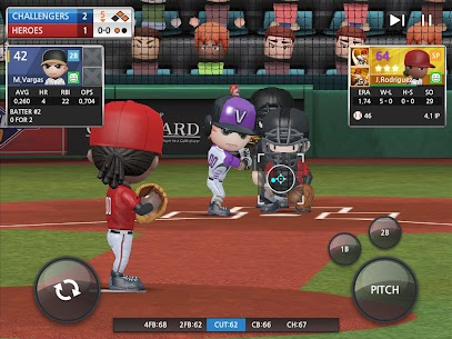 BASEBALL 9 MOD APK 1.7.4 (Unlimited Diamond, Energy) 13