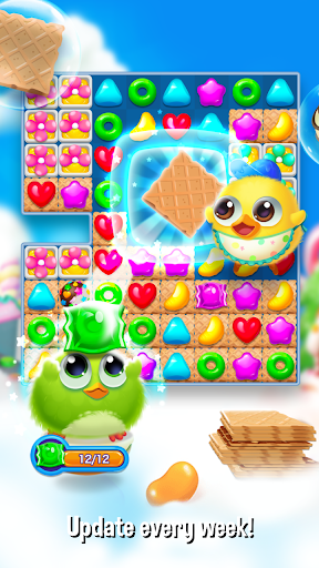 Bird Friends : Match 3 & Free Puzzle modavailable screenshots 6