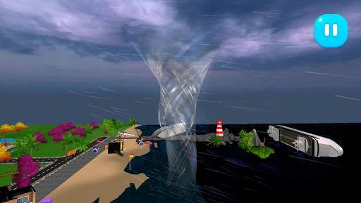 Tornado Rain and Thunder Sim 1.0.7 screenshots 4