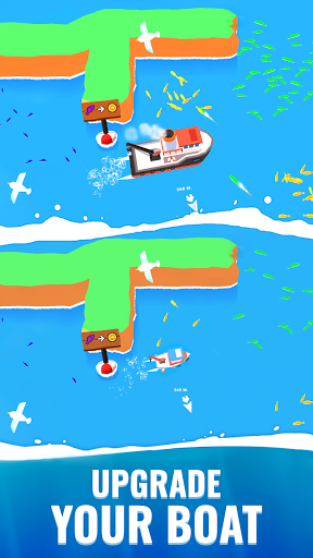 Fish idle: hooked tycoon. Your own fishing boat 4.0.0 screenshots 3