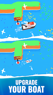 Fish idle: hooked tycoon. Your own fishing boat (MOD, Unlimited Money) 3