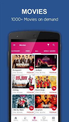 Foto do nexGTv SD Live TV on Mobile