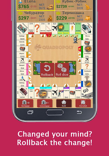 Quadropoly Best AI Board Business Trading Game android2mod screenshots 10