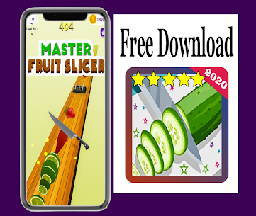 New : Fruit Cut Slicer 3D 2020 Hack for iOS and Android 1
