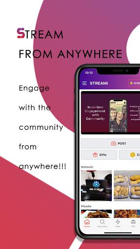 streami - social.shop.stream screenshot 1