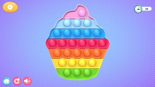 Pop It Sensory Zappeln Wu00fcrfel Spielzeug 3d  screenshots 7