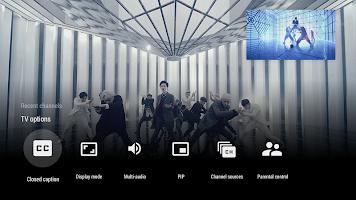 screenshot of Live Channels
