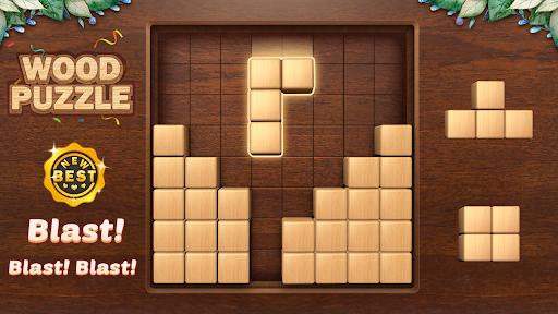 Wood Block Puzzle 3D - Classic Wood Block Puzzle apktram screenshots 13