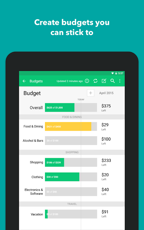 Mint: Budget, Bills, & Finance Tracker  poster 18