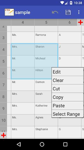 CSV Editor  Screenshots 4