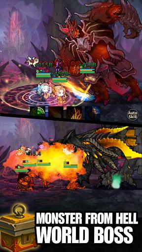 Télécharger Infinity Heroes : Idle RPG apk mod screenshots 3