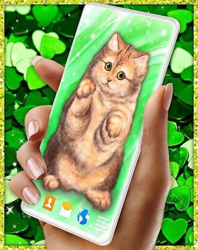 Cute Cat Live Wallpaper u2764ufe0f Fluffy Kitty Wallpapers modavailable screenshots 3