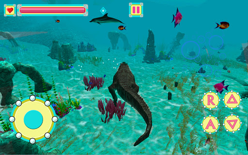 Underwater Crocodile Simulator u2013 Crocodile Games 1.3 screenshots 5