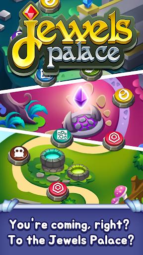 Jewels Palace: World match 3 puzzle master apkslow screenshots 5