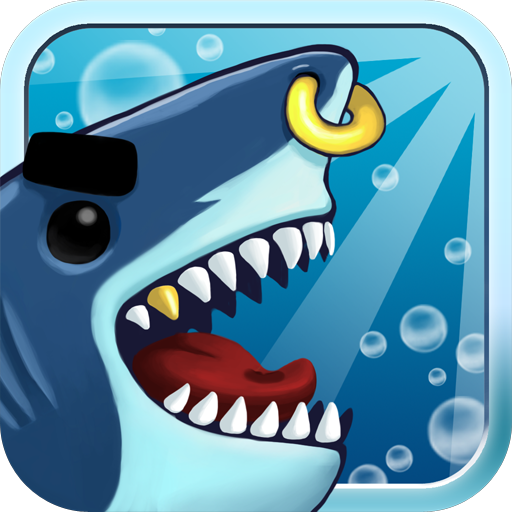 Angry Shark Evolution - fun craft cash tap clicker
