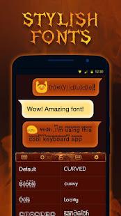 Fire Lion Keyboard Theme - Emoji & Gif