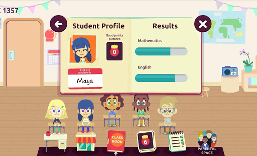 MySchool - Be the Teacher! Learning Games for Kids 3.3.0 Screenshots 4