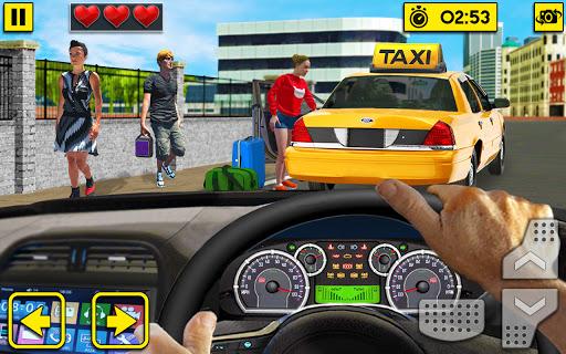 Code Triche ville taxi conduite sim 2020: jeux gratuits taxi APK MOD (Astuce) screenshots 1