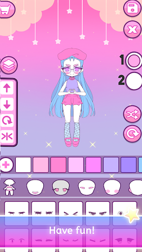 Mimistar - Pastel chibi doll girl dress up maker  screenshots 8