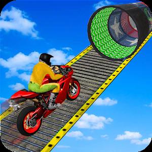 Racing Moto Bike Stunt:Impossible Track Game 2021