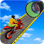Racing Moto Bike Stunt Impossible Track Game