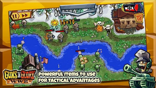 تحميل لعبة Guns'n'Glory WW2 مهكرة اخر اصدار Mod 4