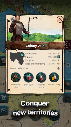 Europe 1784 - Military strategy apkpoly screenshots 19