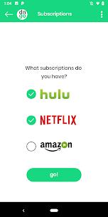 dinggo! Swipe thru Netflix, Hulu, Prime Video 1