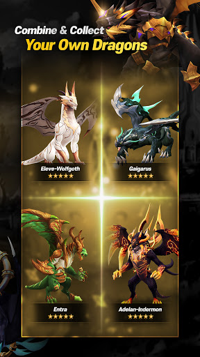 DragonSky : Idle & Merge Apkfinish screenshots 9