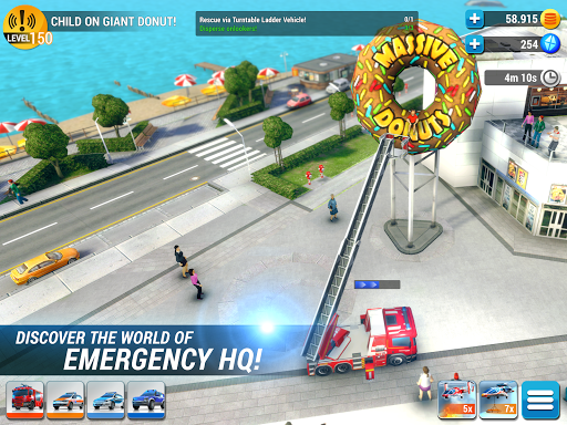 EMERGENCY HQ - free rescue strategy game 1.6.01 Screenshots 12