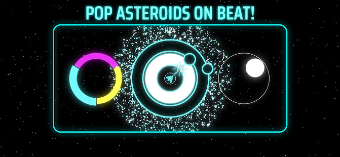 ORBEAT: Pop Asteroids On Beat 0.2.1 APK + Mod (Unlimited money) for Android