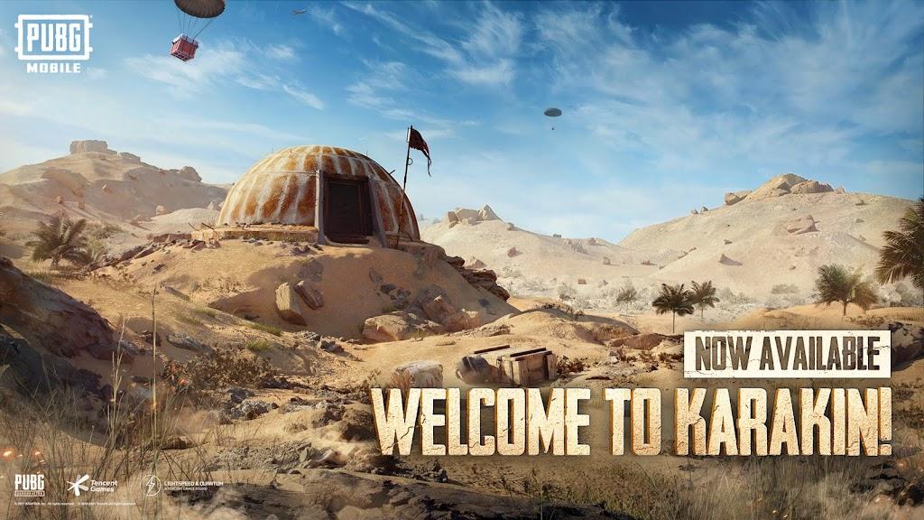 PUBG MOBILE - NEW MAP KARAKIN – Apps on Google Play poster 1